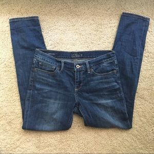 Lucky Brand Charlie Blue Wash Skinny Jean Sz 8/29